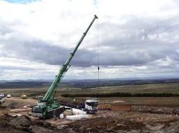Drumderg Wind Farm Construction
