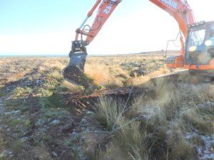 Burn of Whilk bog restoration, Caithness